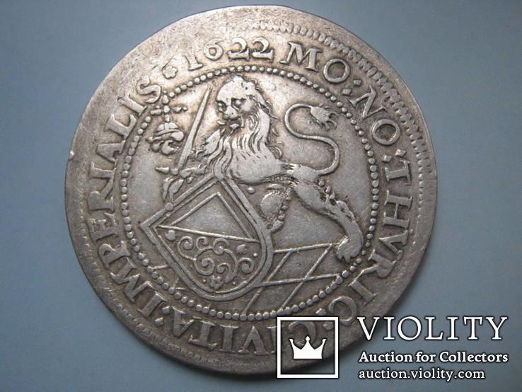 Талер 1622. Цюрих.