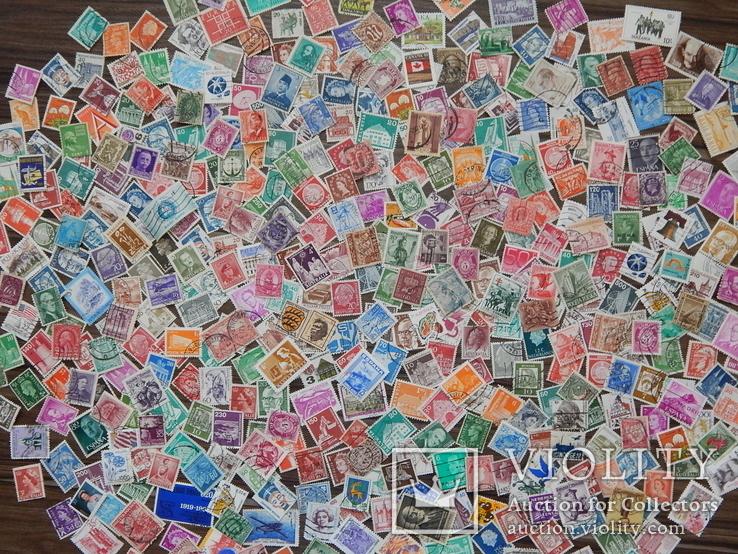 Марки разных стран и периодов 500 шт. ''повторно в связи с невыкупом''