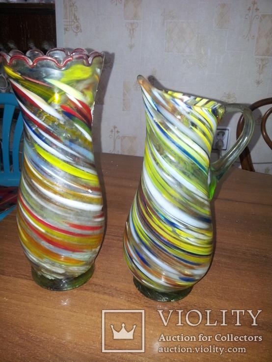 Пара из цветного стекла, фото №2