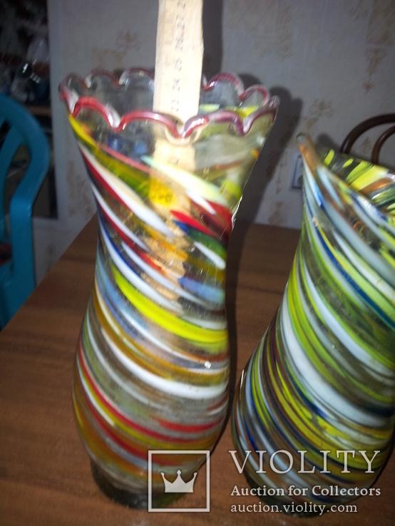 Пара из цветного стекла, фото №4