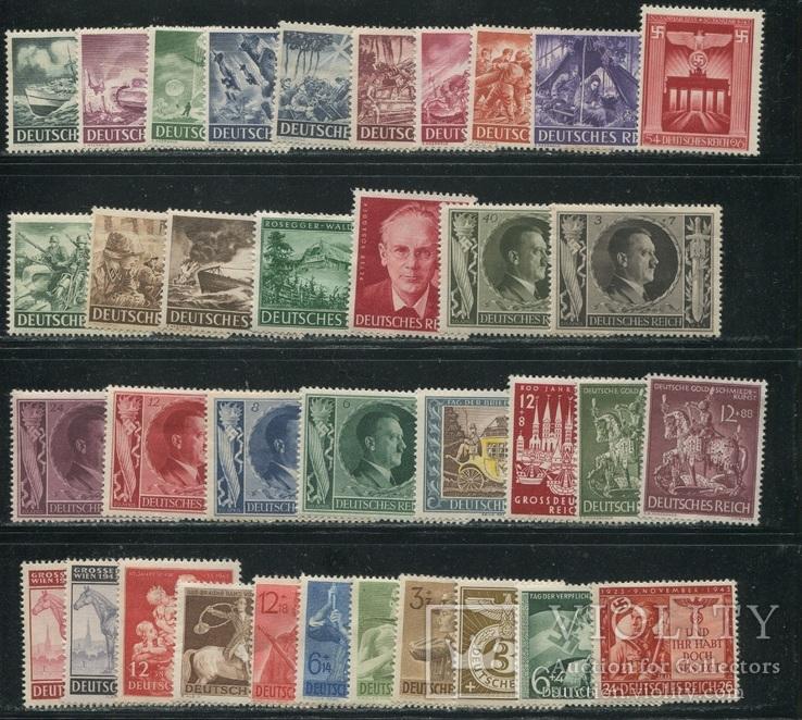 1943 г. Рейх полный годовой набор - см. 9 фото