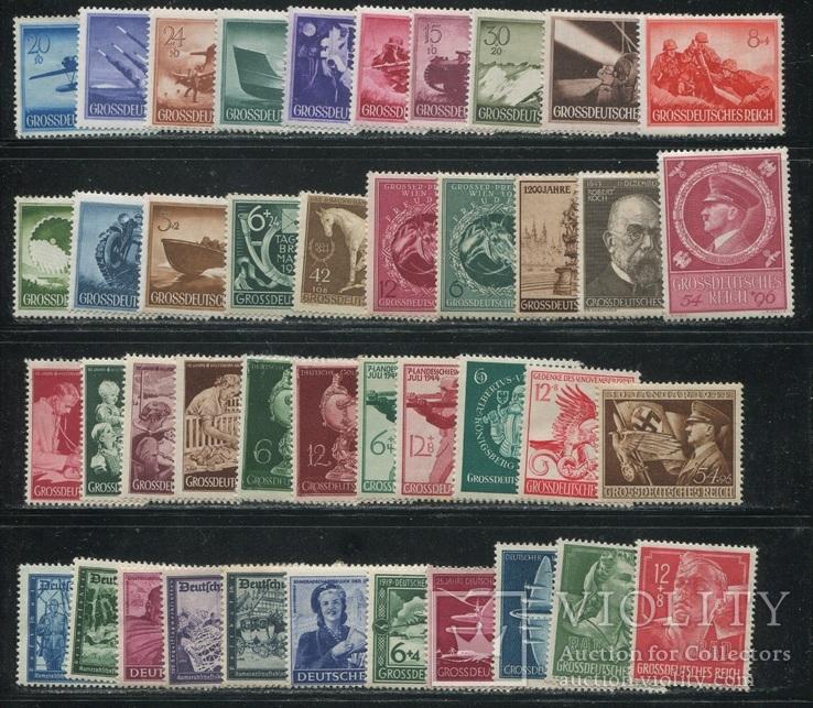 1944 г. Рейх полный годовой набор - см. 9 фото