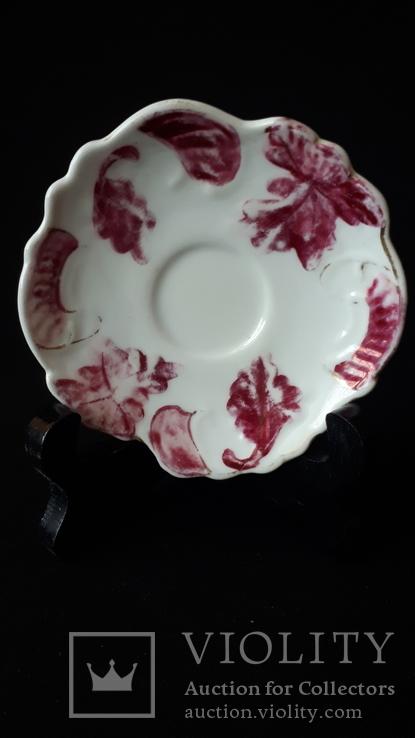 Коллекционная фарфоровая тарелочка. Бавария., фото №2