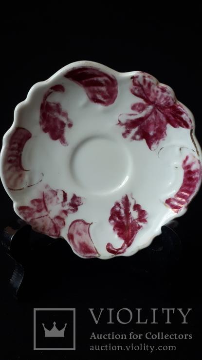 Коллекционная фарфоровая тарелочка. Бавария., фото №3