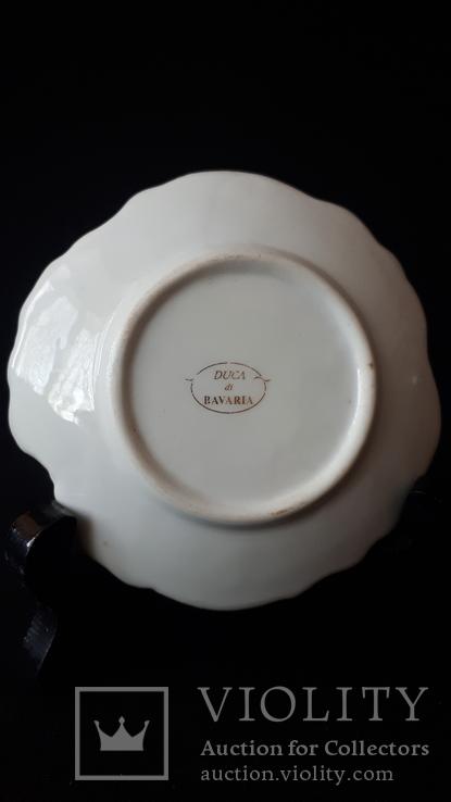 Коллекционная фарфоровая тарелочка. Бавария., фото №4
