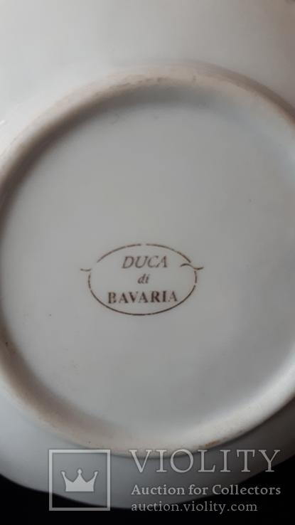 Коллекционная фарфоровая тарелочка. Бавария., фото №5