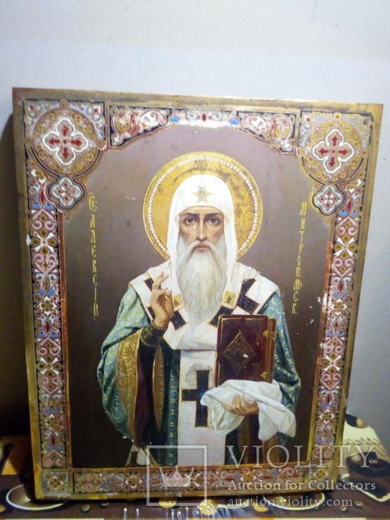 Икона «Святитель Алексий, Митрополит Московский».