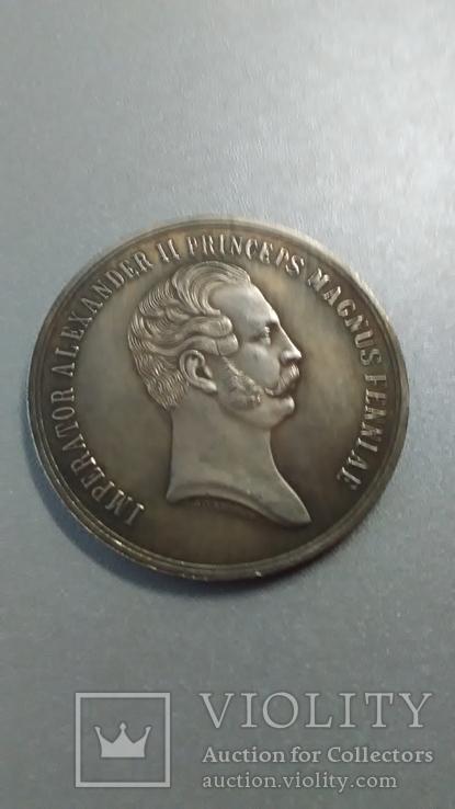 В память 700 летия христианства в Финляндии 1857 год копия, фото №2