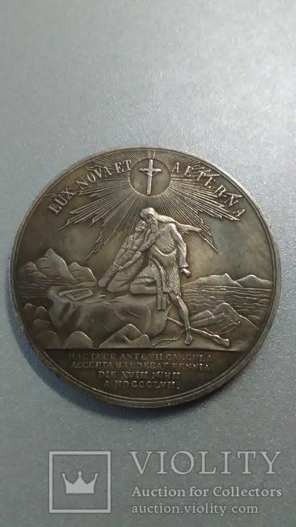 В память 700 летия христианства в Финляндии 1857 год копия, фото №3