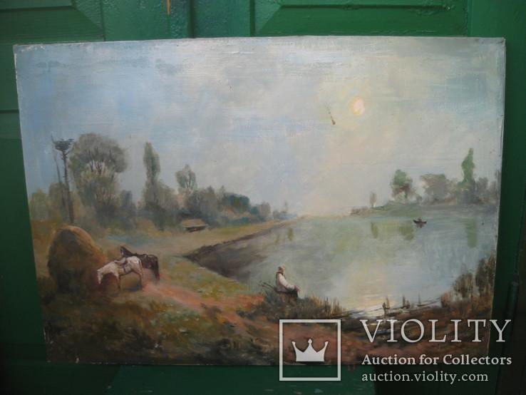 Картина Утрений туман, фото №4