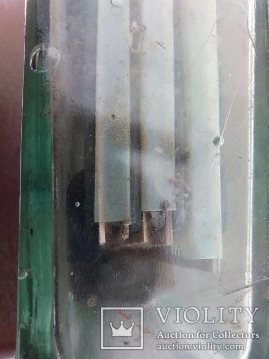 Аккумулятор стеклянный с тепловоза 70-е года, фото №9
