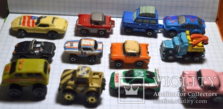Старые мини-модели машин., фото №7