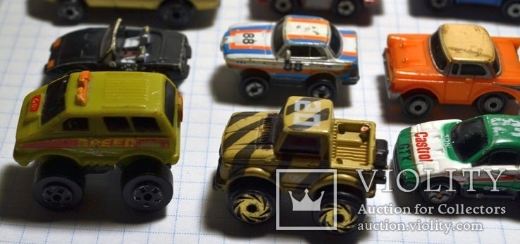 Старые мини-модели машин., фото №12