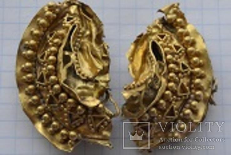 Золотий колт. Римська імперія 3-4 ст н.е.