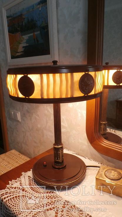 Лампа настольная Адмиральская (2). Военно-морская. Сталинская лампа.