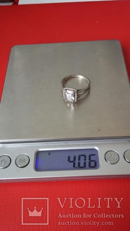 Кольцо 925, фото №9