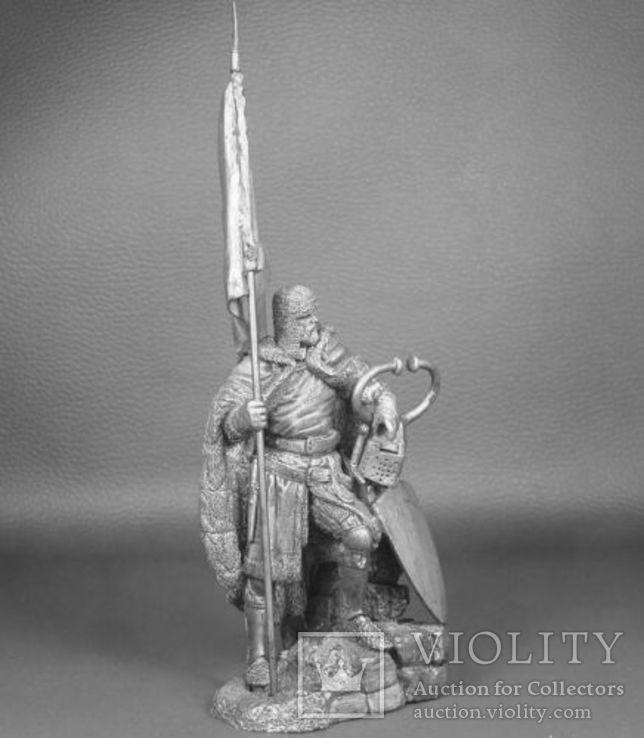 Германия. Великий магистр Тевтонского ордена 14 в. 75 мм, фото №3
