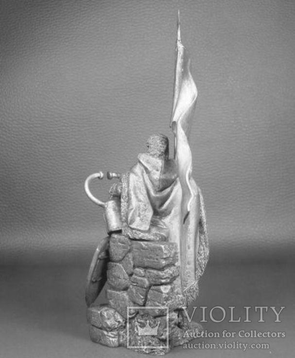 Германия. Великий магистр Тевтонского ордена 14 в. 75 мм, фото №5