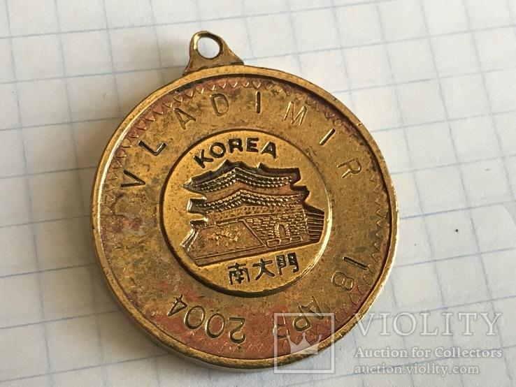 Медаль Korea 18 apr 2004, фото №2