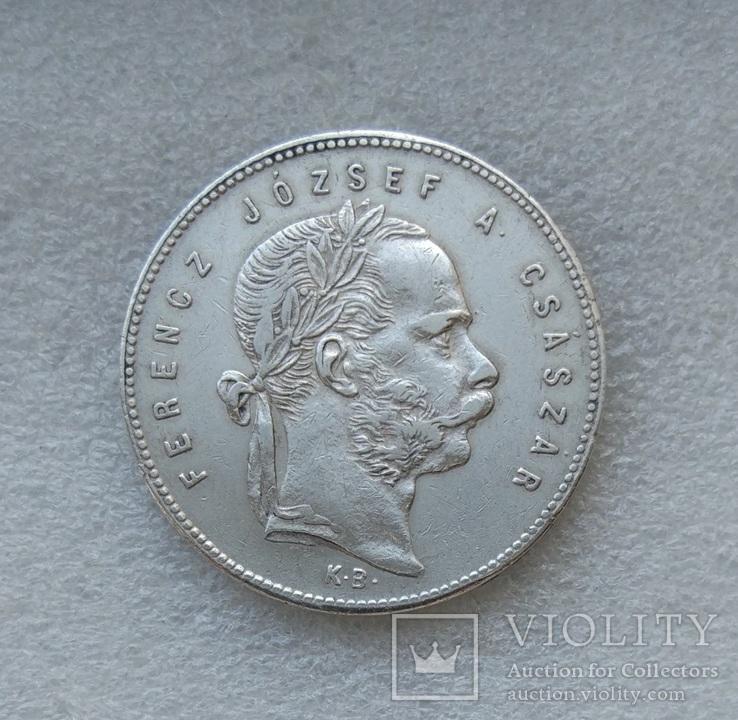 1 Форинт 1869 г. Австро-Венгрия