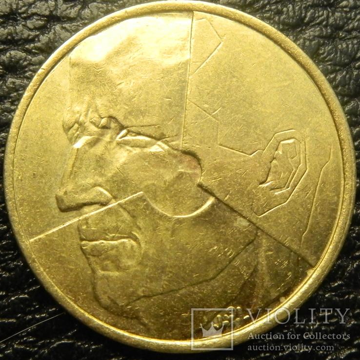 5 франків Бельгія 1986 Belgique, фото №3