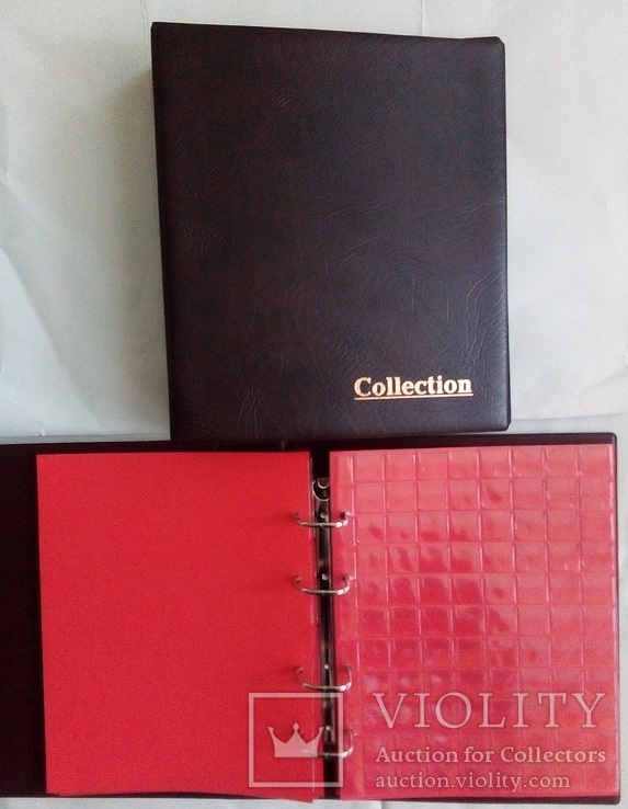 Комбинированный альбом для монет и банкнот Collection, фото №9