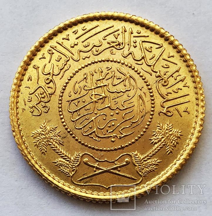 Гинея 1950 года. Саудовская Аравия. UNC