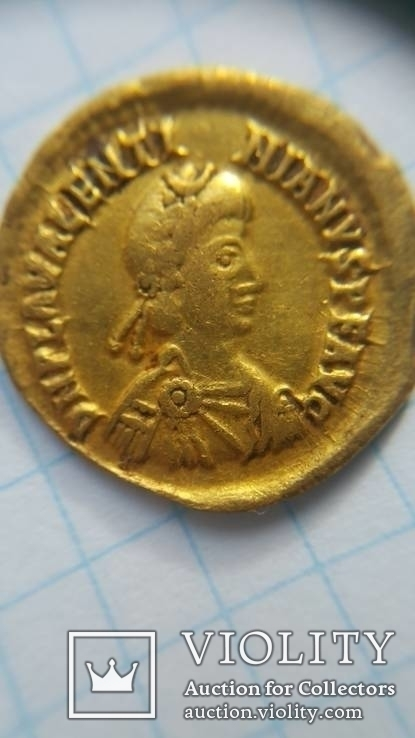 Солідус Валентініан ІІІ 426-445 р. н.е.