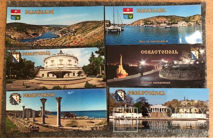 Севастополь.Крым.Виниловые магниты, 6 штук, фото №2