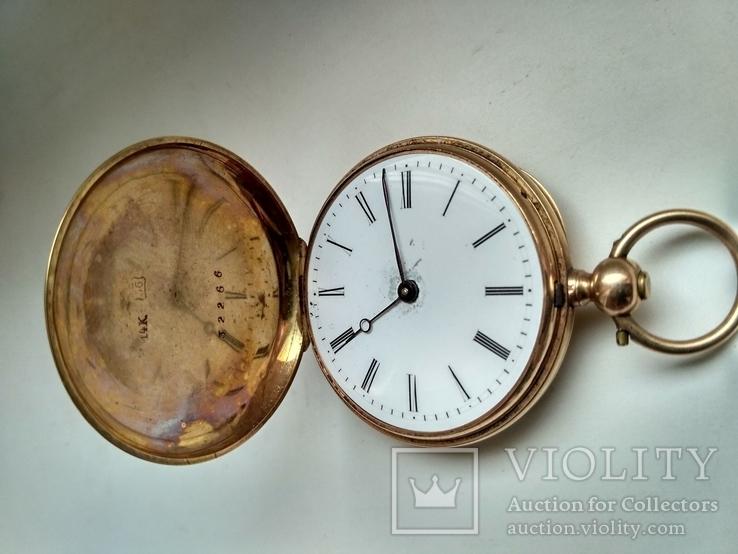 Часы карманные золотые,швейцарские