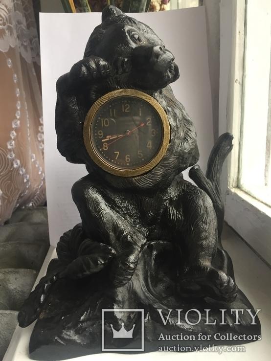 Медведь. Чугун клеймо Касли 50е года СССР