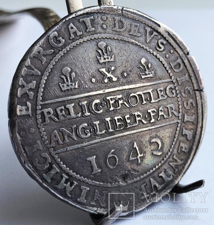 Пол фунта 1642 года Англия.