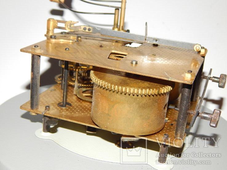Часы настенные ссср с боем янтарь хенд мейд 0355, фото №10