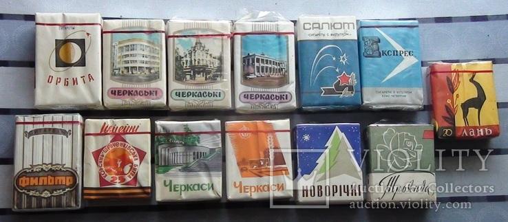 Полные пачки Черкасской табачной фабрики
