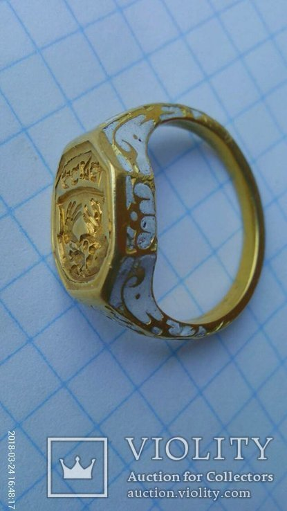 Перстень - Печать( 16-17ст.)