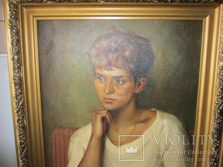 Д. Салов     Женский портрет
