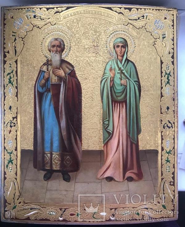 Аналойная икона Владимира и Софии