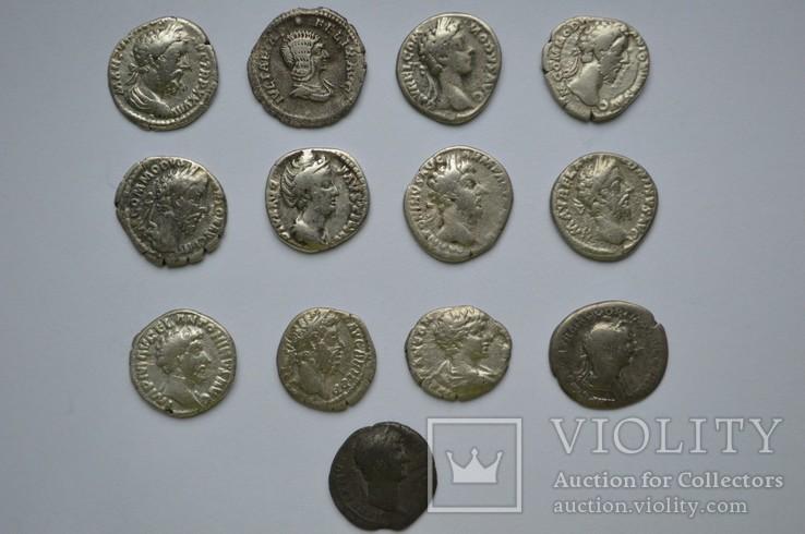 Тринадцать монет Рима одним лотом