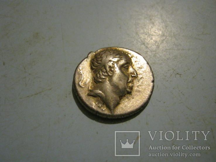 Каппадокийская драхма Ариобарзан -1. 95-63 век до н.є.