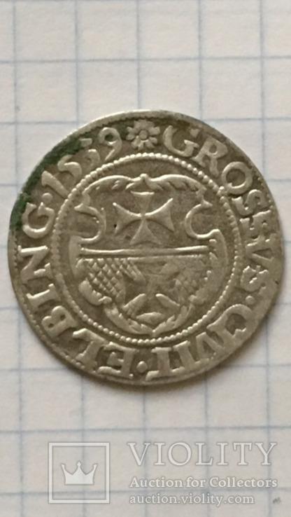 Эльблонг грош 1539 Сигизмунд |.