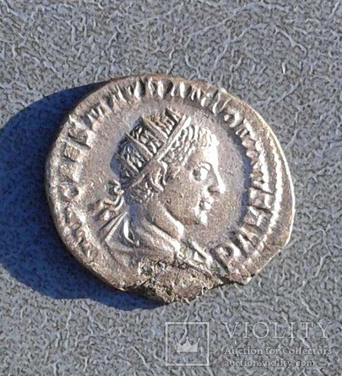 Елагабал  Антониан, Рим 218-219 г.н.э.