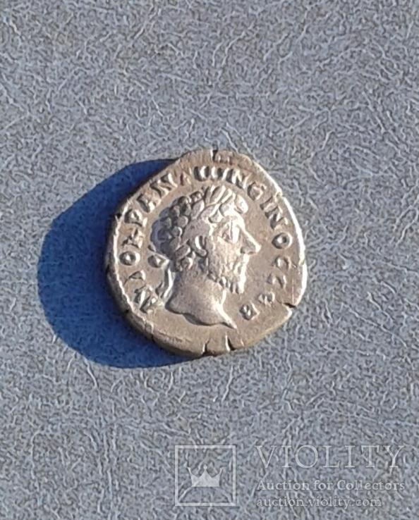 Марк Аврелий, Дидрахма  Кесария Каппадокийская.