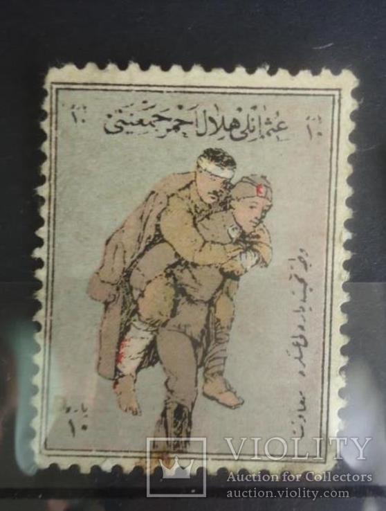Турция ПМВ 1914-18 гг помощь раненным