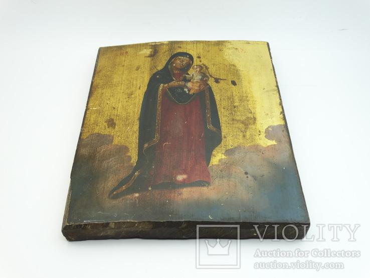 Старинная Икона Святая Богородица