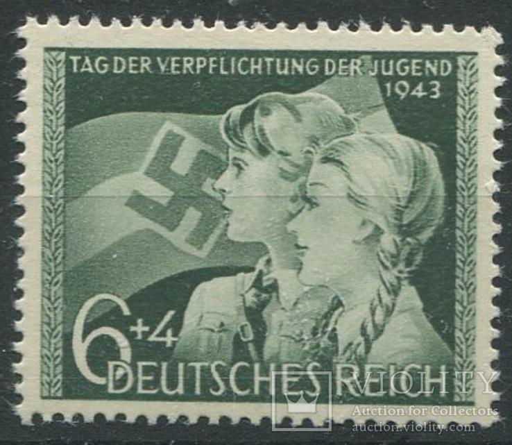 1943 Рейх гитлерюгенд  полная серия MNH **