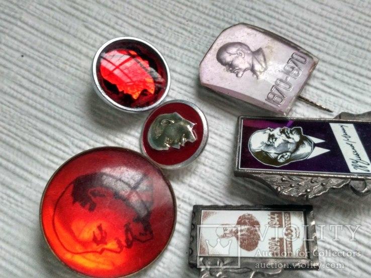 Значки Ленин, фото №5