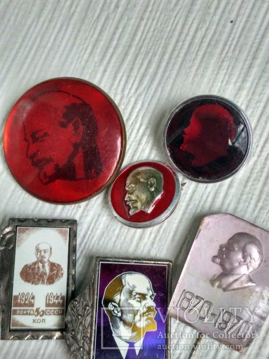 Значки Ленин, фото №6