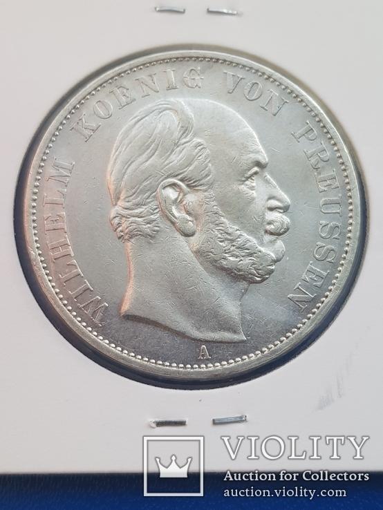 Талер 1871 г.  Победный. Пруссия.