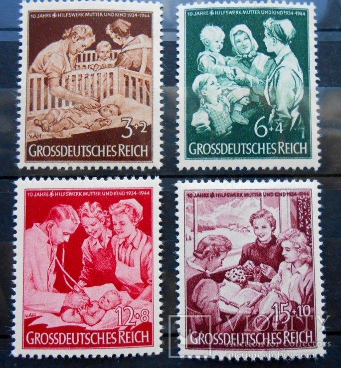1944 г. Геомания Мать и ребенок (**) Полная срия