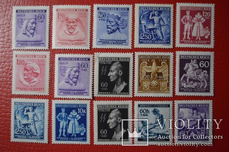 Рейх Богемия и Моравия 15 марок